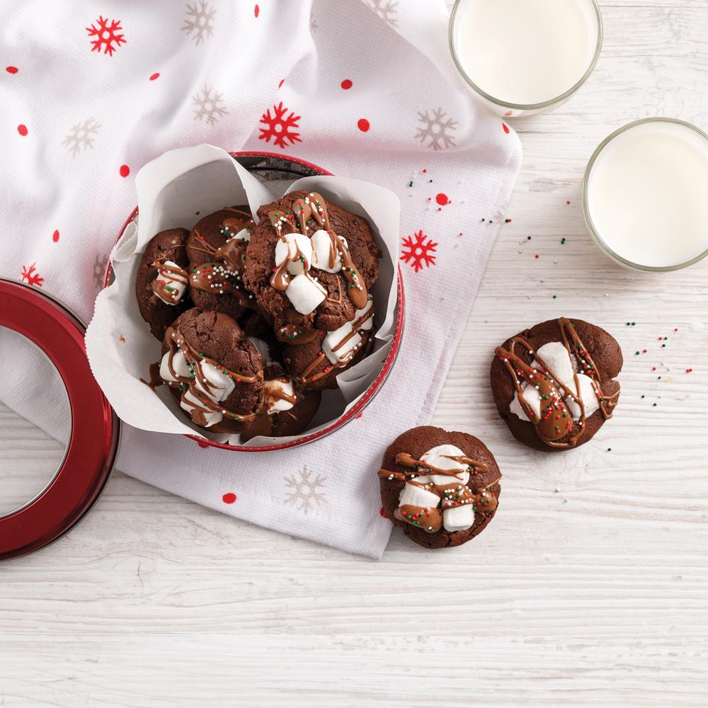 Biscuits au chocolat chaud