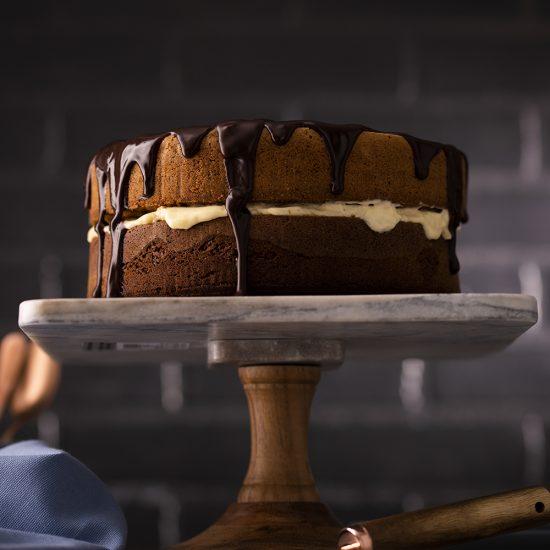 Gâteau étagé aux trois chocolats