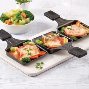Cassolettes aux légumes style raclette