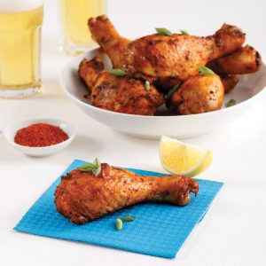 Pilons de poulet piquants au piri-piri