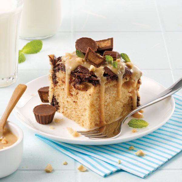 Gâteau au beurre d'arachide à la mijoteuse