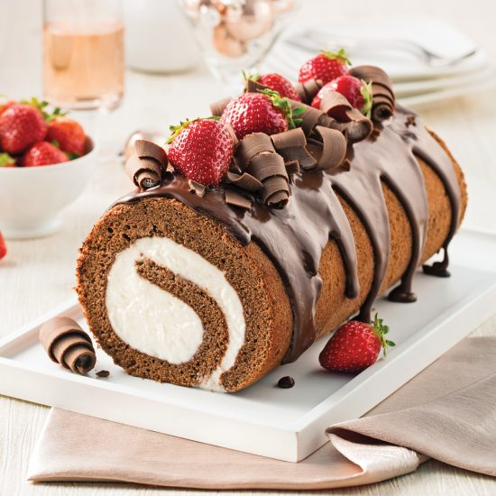 Ice Cream Yule Log