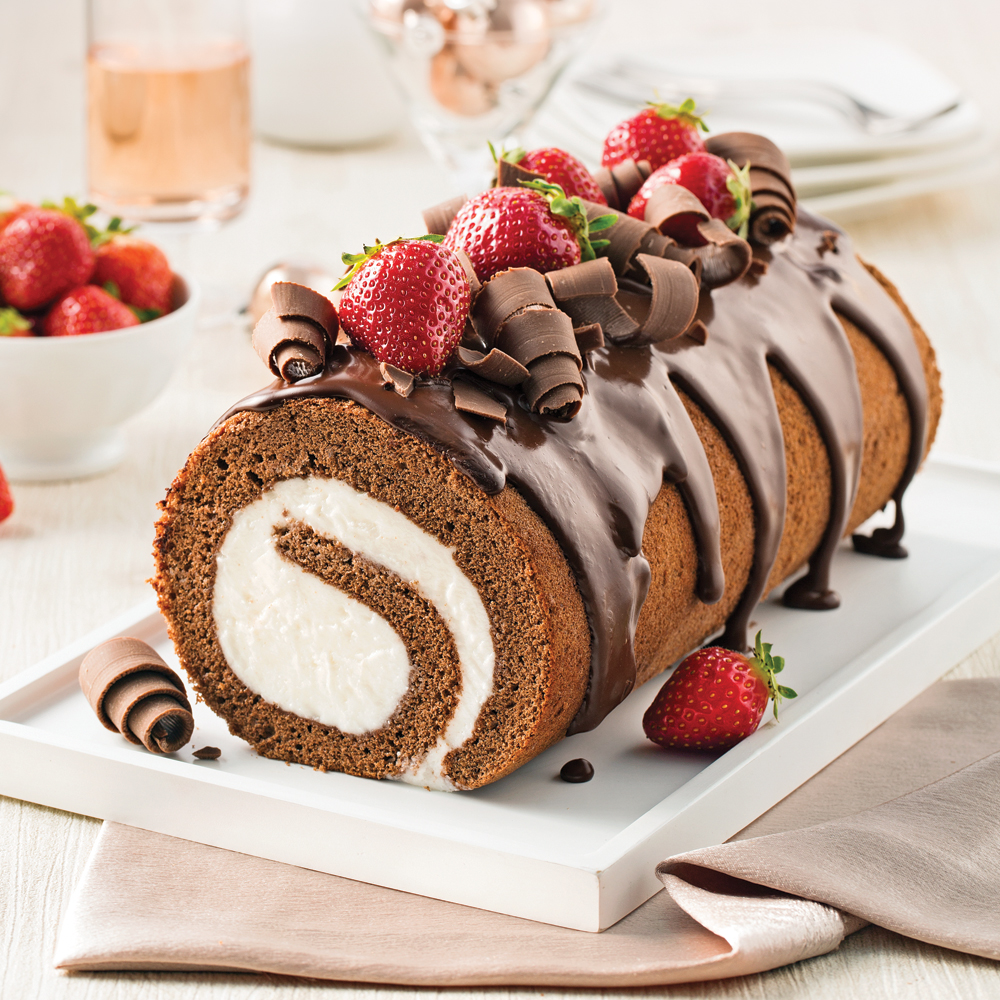 Ice Cream Yule Log