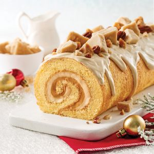 Sugar Fudge Yule Log