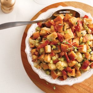 Bacon and Caramelized Onion Stuffing