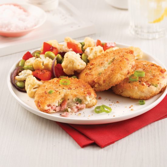 Ham and Potato Croquettes