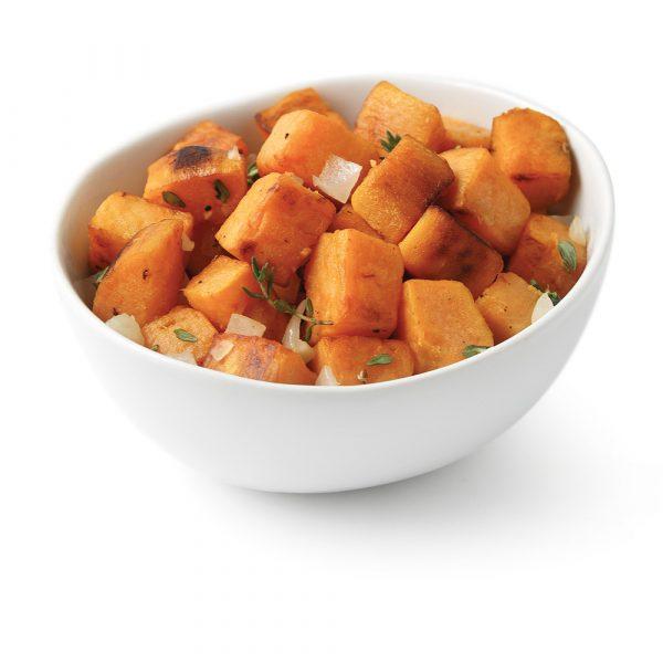 Sauté de patates douces