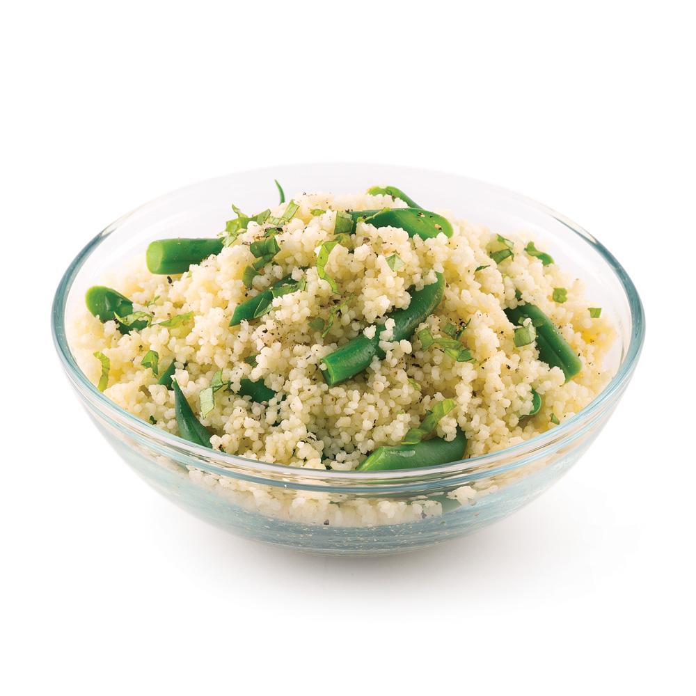 Couscous aux haricots verts