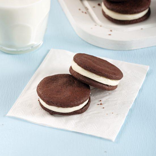 En étapes: on fait des biscuits Oréo maison