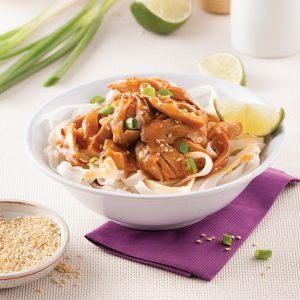Honey-sesame Pulled Chicken