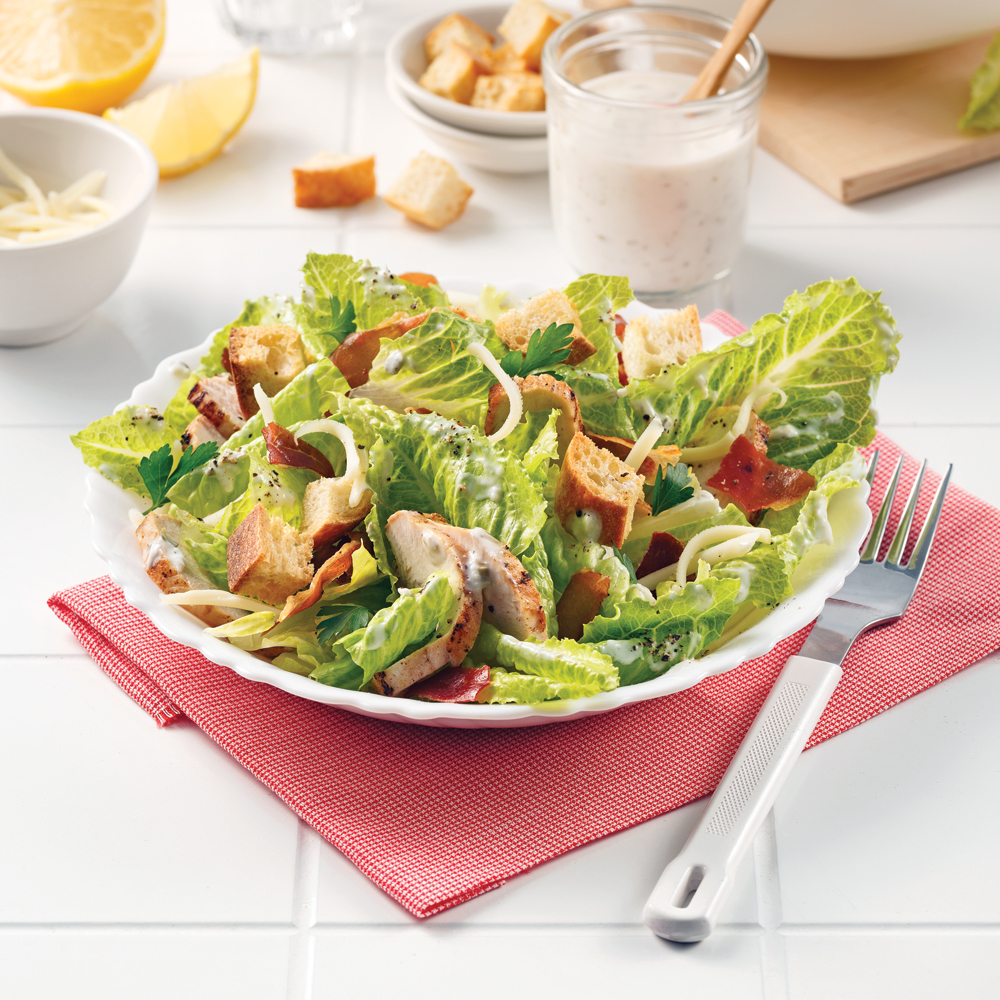 Chicken Caesar Salad 5 Ingredients 15 Minutes
