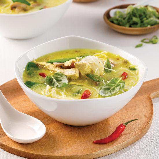 Soupe thaïe au poulet