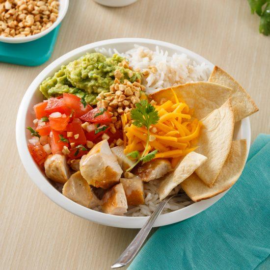 Peanut Burrito Bowl