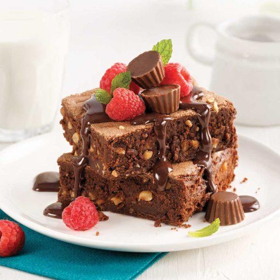 Brownies choco-arachides