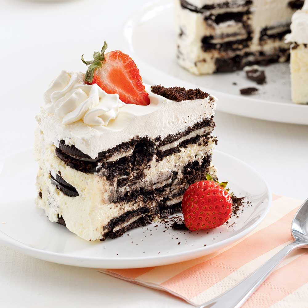 Gâteau Oreo sans cuisson