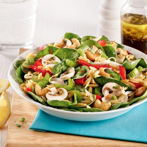 Salade d'amour à l'orzo