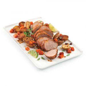 Filet de porc et pommes de terre grelots cajun