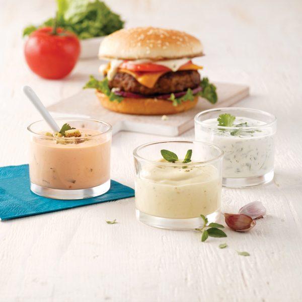 Nos 3 meilleures sauces à burger