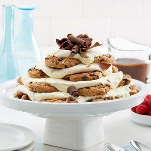 Gâteau de biscuits aux pépites de chocolat