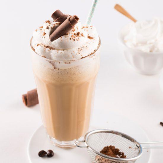 Cappuccino glacé maison