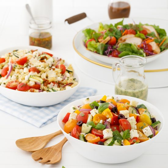 Trio de salades estivales
