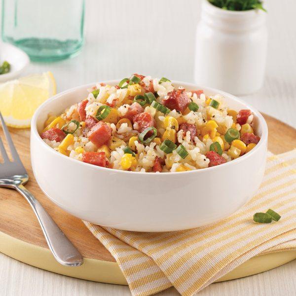 Ham and Corn Rice