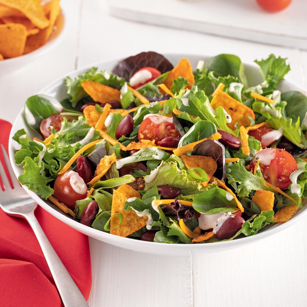 Salade végé aux Doritos