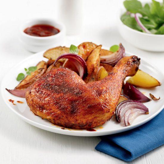 Cuisses de poulet à la portugaise