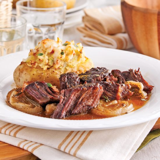 Maple and Dijon Chuck Roast