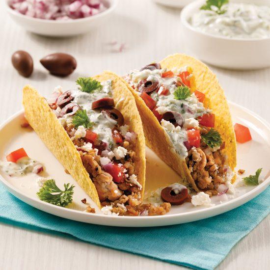 Tacos à la grecque