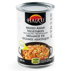 Mélange de légumes asiatiques Haiku