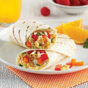 Burritos déjeuner express