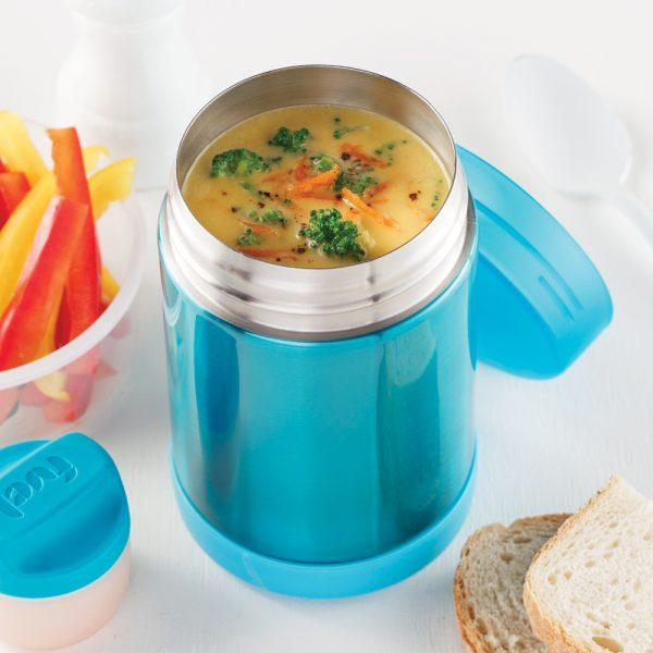 Potage au brocoli, carottes et cheddar