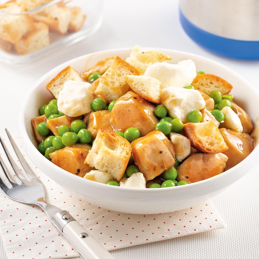 Poulet hot chicken au fromage en grains