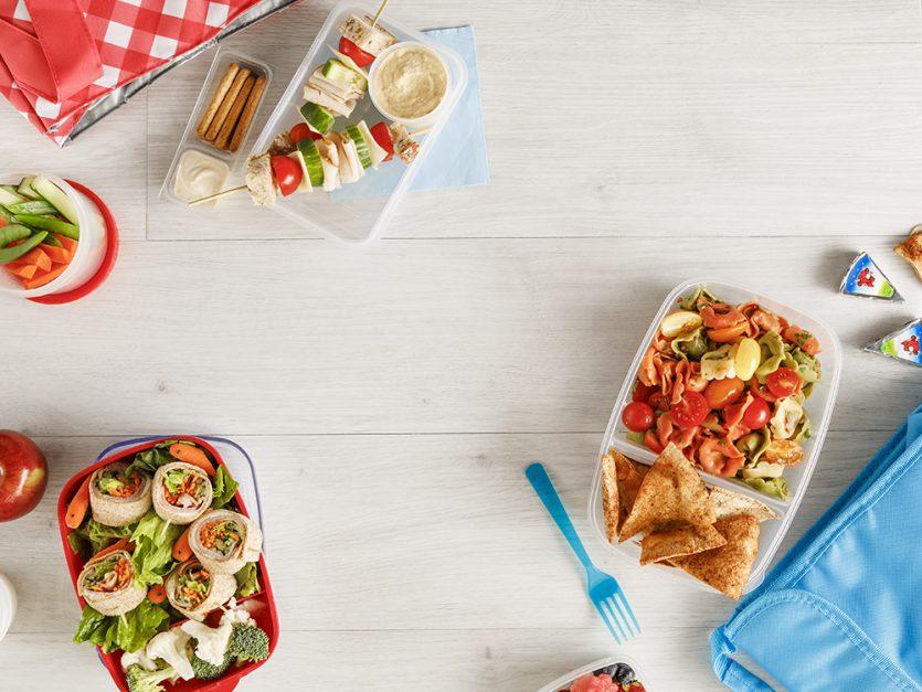 5 lunchs cool prêts en 10 minutes top chrono !