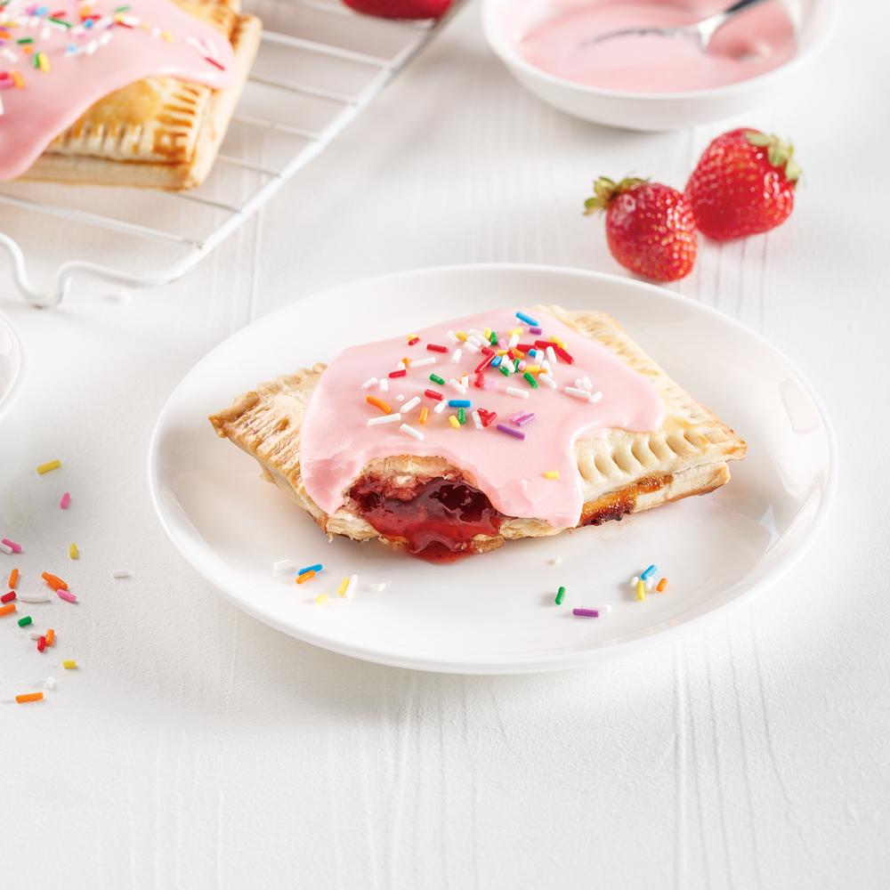 Pop-tarts maison aux fraises