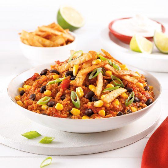 Chili de quinoa