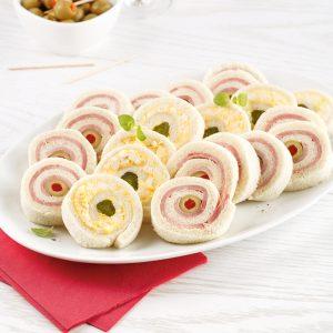 Sandwichs roulés