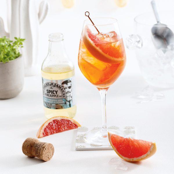Cocktail Spicy Spritz