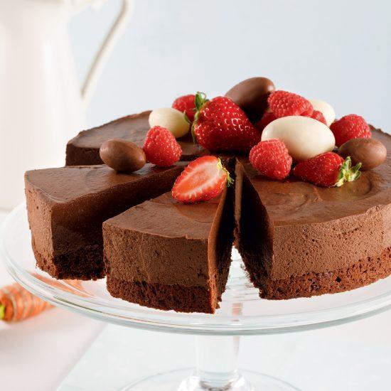 Gâteau-mousse au chocolat