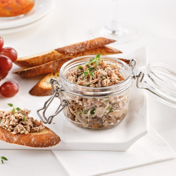 Rillettes de canard traditionnelles