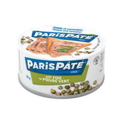 pâté de foie au poivre vert Paris Pâté