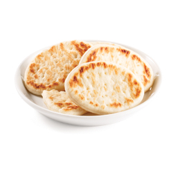 mini-pains naan ronds