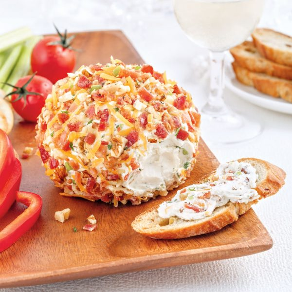 Boule de fromage ranch au bacon