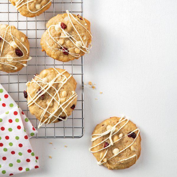 Biscuits aux noix de macadam et à l'érable