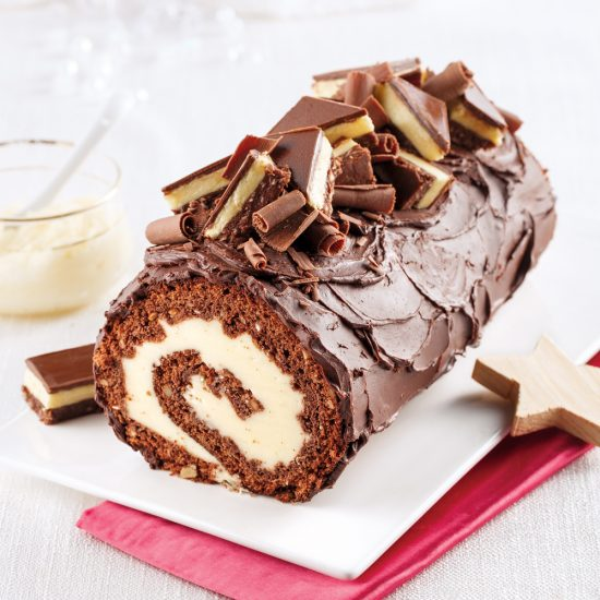 Freezer-Friendly Nanaimo Log Cake