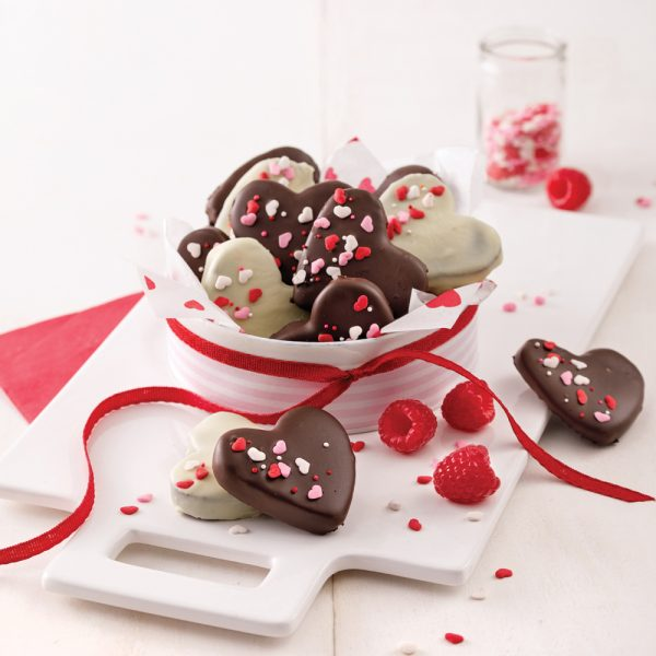 Chocolate Truffle Hearts
