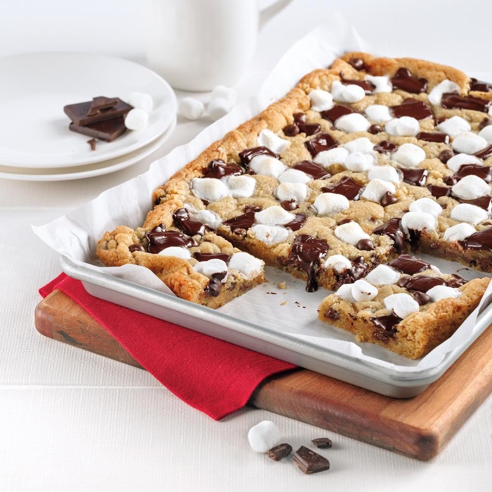 Plaque de biscuit s'mores