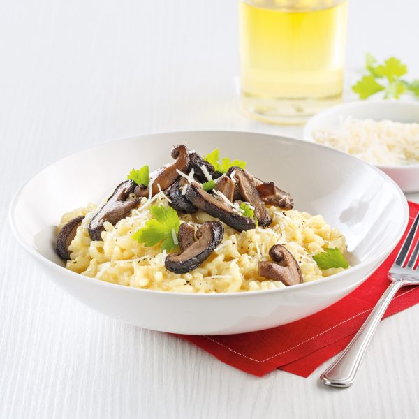 Risotto aux shiitakes