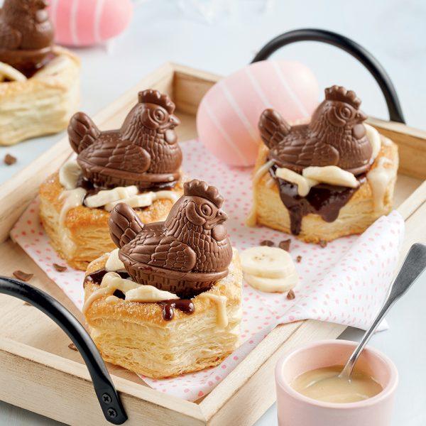 Poulailler au chocolat
